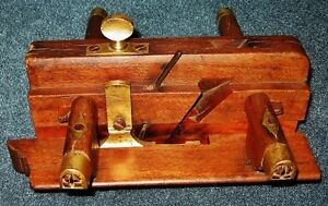 Antique Wood Working Wedge Arm Molding Plow Plane Hand Tool Prince George British Columbia image 1