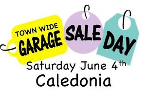 Fundraising bbq and garage sale