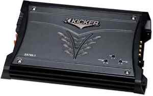 """2 12"""" kickers 2 amps and deck obo"""