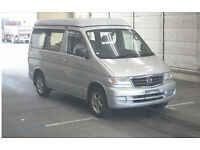 FRESH IMPORT NEW SHAPE MAZDA BONGO FRIENDEE PETROL CAMPER AUTO ELEVATING ROOF