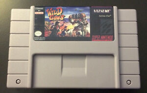 Aero Fighter + Wild Guns - SNES REPRODUCTION Gatineau Ottawa / Gatineau Area image 4