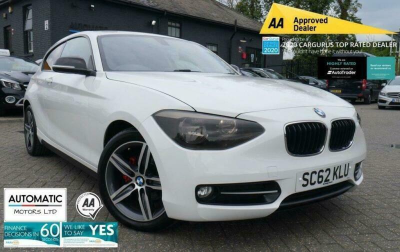 2013 62 BMW 1 SERIES 1.6 114I SPORT 3D 101 BHP