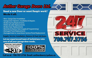 Garage door sales,service,&installs780-707-3756.LOW PRICE. Edmonton Edmonton Area image 7