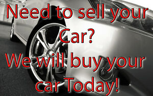 Need to sell your car? We will buy it today!!