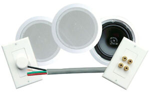 Dual 6.5inch Ceiling Speaker Kit