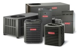 FURNACES, ACs, GAS STOVES, DUCTWORK, FIREPLACES, HRVs