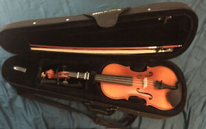 3/4 Violin/Extra Strings/Chin Rest etc.