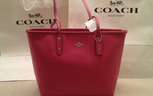 Brand new in package authentic Coach bag, City zip tote