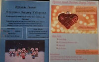 Christmas Singing Telegrams! ONLY $15.00