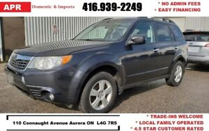 2010 Subaru Forester w/Panoramic Roof