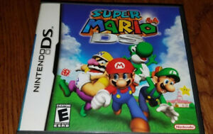 Nintendo DS - Super Mario 64, Mariokart, Feel the Magic, Metroid