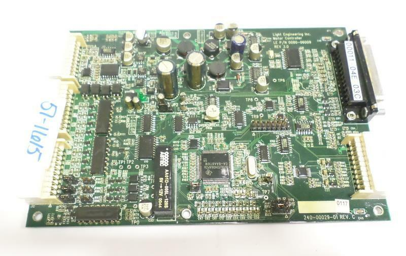 LIGHT ENGINEERING GENERATOR MOTOR CONTROLLER 0080-06009