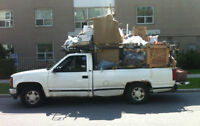 Strong Guy with Large Pickup Truck ( moves 1-bedroom apartment