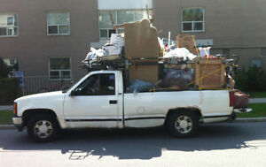 Strong Guy with Large Pickup Truck (moves 1-bedroom apartment)
