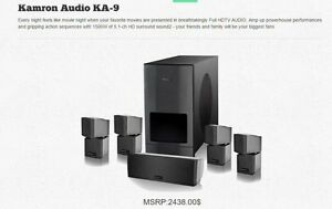 kamron audio 5.1 hd home theatre speaker system
