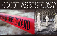 GOT ASBESTOS? Vector1 Vermiculite Removal Experts (403) 473-7330