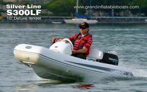 SUMMER SALE - NEW Side Console Tender RHIB A300L with 9.8HP
