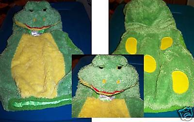 Baby Size 24 Months Green Yellow Toad Frog Halloween Costume Vest Green  - Baby Toad Costume