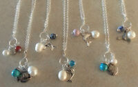 Charm Necklaces - NEW!