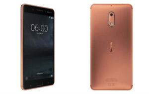 Nokia 6 Phone, Copper color
