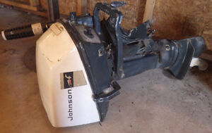 Older Johnson 9 H P Outboard Motor