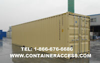 20 AND 40FT SHIPPING CONTAINER STORAGE FOR SALE
