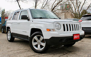 2011 JEEP PATRIOT NORTH EDITION - ACCIDENT FREE - ONE OWNER!
