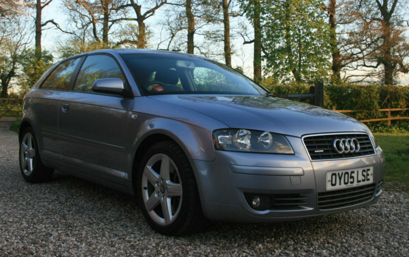 2005 audi a3 3 2l v6 quattro sport 3 door hatchback. Black Bedroom Furniture Sets. Home Design Ideas