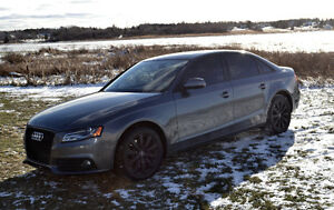 2012 AUDI A4 QUATTRO AWD (6SPD MANUAL)