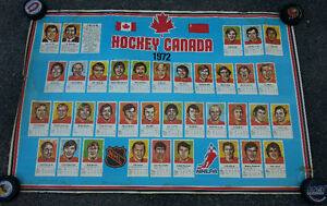 1972 Original PRO SPORTS Team Canada Hockey Poster / Bobby Orr