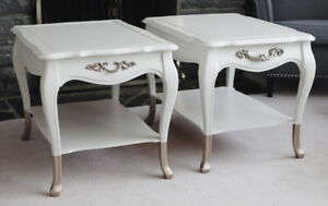 Pair of French Provincial Side Tables