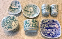 Vintage scandinavian pottery dishes mixed lot (Denmark & Norway)