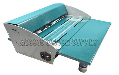 18in 460mm Electric Creaserscorerperforator Machine With Workbench 110v