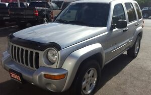 2003 Jeep Liberty Limited SUV, Crossover 2 YRS WAR LOW KM Cambridge Kitchener Area image 3