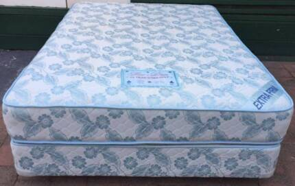Excellent double bed set (Firm Mattress) . Pick up or delivery