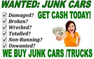 $$$ SCRAP JUNK OLD BROKEN CARS VAN TRUCKS SUV TOP PRICES PAID$$$