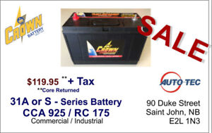Commercial / Industrial Batteries - 31 Series