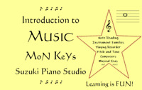 Music Lessons @ MoN KeYs Suzuki Piano Studio