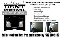 Southwest Dents and Polishing: Paintless Dent Repair