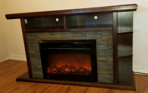 TV stand/electric fireplace/heater