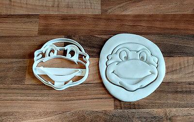 Turtle Cookie Cutter TMNT - 100mm (can be resized) (Ninja Turtle Cookies)