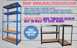 Steel Storage Rack/Shelving Unit 5-Tier