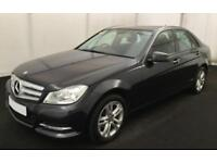 2012 BLACK MERCEDES C200 2.1 CDI EXECUTIVE SE SALOON CAR FINANCE FROM 33 P/WK