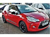2013 Citroen DS3 DStyle Plus1.6e-HDi Airdream £0 RoadTax Warranty delivery PX