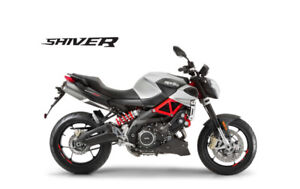 APRILIA SHIVER DEMO SALE $2000 OFF FINANCING FROM 0% ONLY 20KMS