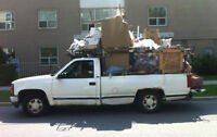 Strong Guy with Large Pickup Truck ( moves 1-bedroom apartment )