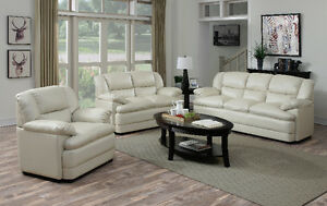 BRAND NEW BONDED LEATHER SOFA AND LOVESEAT FOR ONLY $998