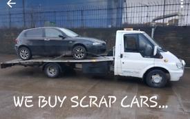 SCRAP CARS WANTED 🚗
