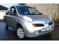2005 NISSAN MICRA 1.2 S FULL SERVICE HISTORY LOW MILEAGE 1 OWNER WELL MAINTAINED CLEAN CAR
