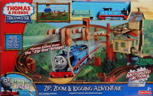 The Thomas and FriendsZip, Zoom and Logging Adventure